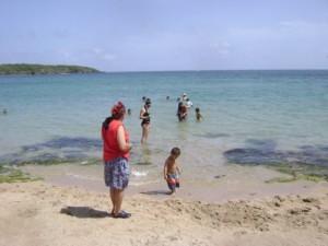 saul 2009 08 beach